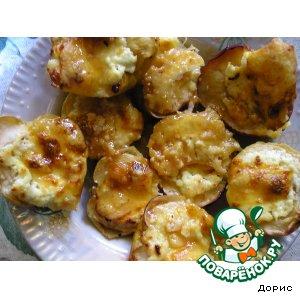 Рецепт: Сырные яблоки