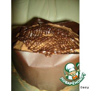 """Рецепт: Торт """"Шоколадная улитка"""""""