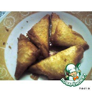 Рецепт: Пирожки с сыром Самбуськи жэбнэ
