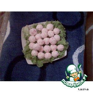 Рецепт: Творожно-сырные шарики