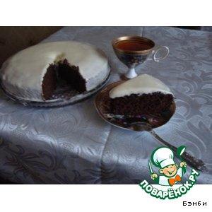 Рецепт: Черемуховый торт