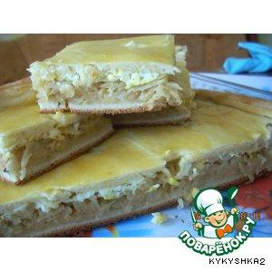 Рецепт: Капустный пирог