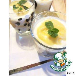 Лимонный курд с домашним йогуртом