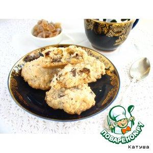 Рецепт: Печенье «1 минута и много часов»