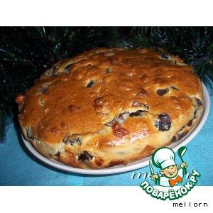 Рецепт: Пирог-кекс с грибами и сыром