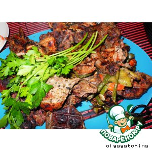 Рецепт: Дикая утка на мангале