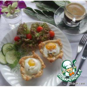 Рецепт: Любимый завтрак для любимых