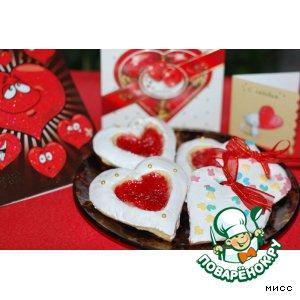 Рецепт: Печенье Валентинки