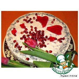 """Рецепт: Торт """"Сделано с любовью"""""""