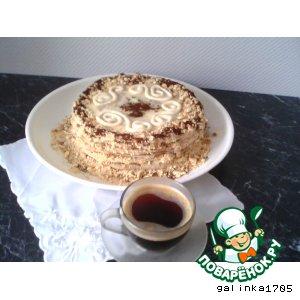 Рецепт: Торт Минутка