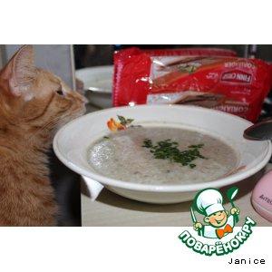 """Рецепт: Суп """"Грибной дождь"""""""