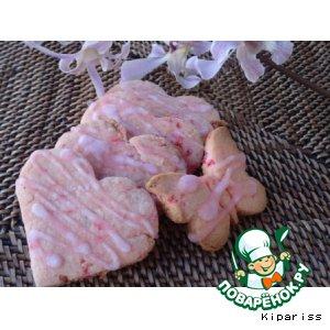 Рецепт: Необычные вишневые печенья