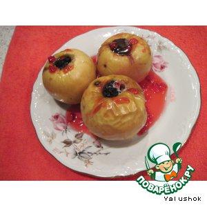 Рецепт: Яблоки, запеченные в духовке
