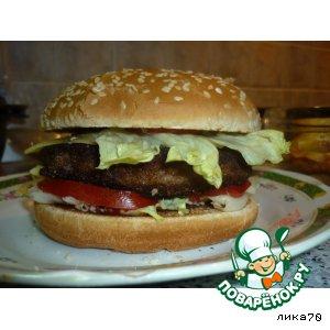 Рецепт: Бургер Настоящая классика