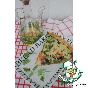 Рецепт: Мечта гурмана-пицца с папоротником