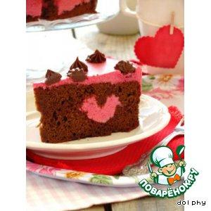Торт Пурпурное сердце