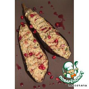 Рецепт Баклажаны с орехами и зеленью