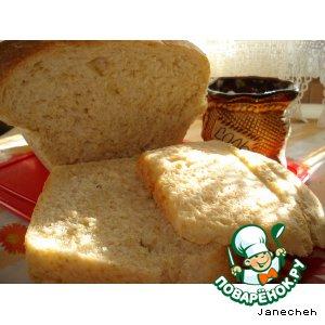Рецепт: Хлеб постный Барвихинский на пшеничной крупе