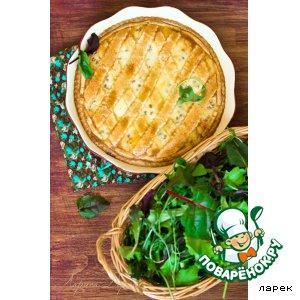 Рецепт: Неаполитанский пасхальный пирог с пшеницей