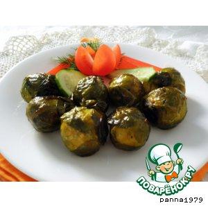 Рецепт: Запеченная брюссельская капуста