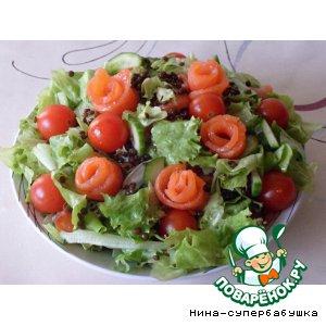 """Рецепт: Салат """"Испанские страсти"""""""