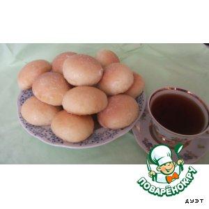 Рецепт Нежные булочки с мармеладом