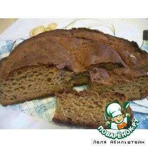 Рецепт: Хлеб ржаной с отрубями на сыворотке