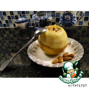 Рецепт: Яблоки, запеченные с начинкой