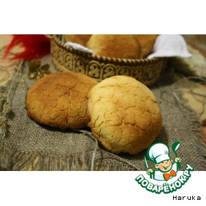 """Рецепт: Голландский хлеб """"Tijgerbrood"""" с хлопьями"""