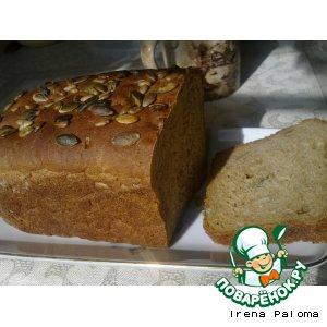Рецепт: Хлеб почти Альпийский на квасном сусле