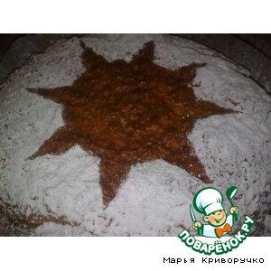 Рецепт: Постный морковный пирог Солнечный зайчик