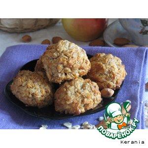 Рецепт: Яблочно-овсяные шарики