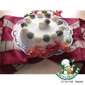 Рецепт: Кокосовый торт Коко Кабана
