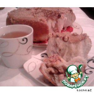 Рецепт: Карамельные булочки с фундуком