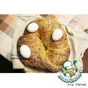 Рецепт: Пасхальный хлебушек