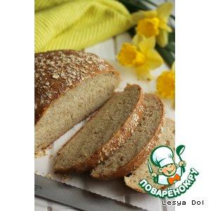 Рецепт: Овсяный хлеб