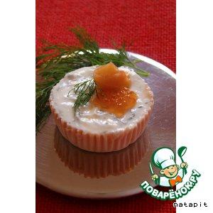 Рецепт Мусс из сeмги с укропным желе
