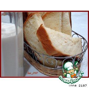 Рецепт: Сдобный хлеб в хлебопечке
