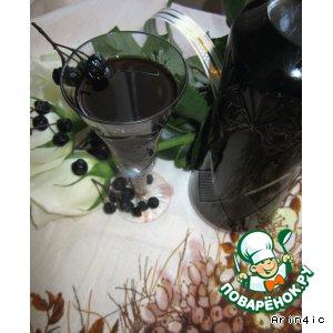 Рецепт: Настойка из черноплодной рябины с медом