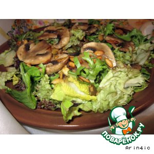 Рецепт: Зеленый салат