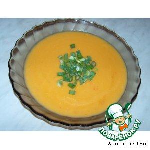 Рецепт: Острый тыквенный суп-пюре