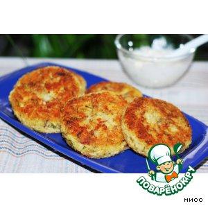 Рецепт Пшенные биточки с сыром