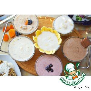 Рецепт: Домашний натуральный йогурт