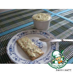 Рецепт: Намазка на бутерброд