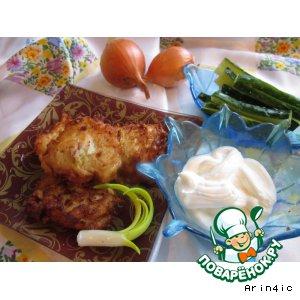 Рецепт: Луковые бхажи