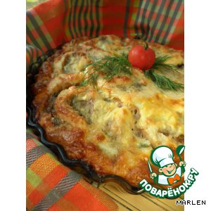 Рецепт: Запеканка А-ля Пирог