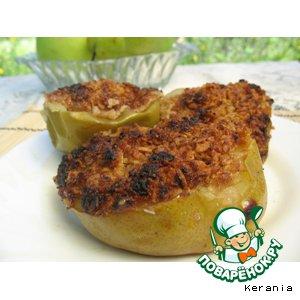 Рецепт: Яблоки и груши, запеченные в углях