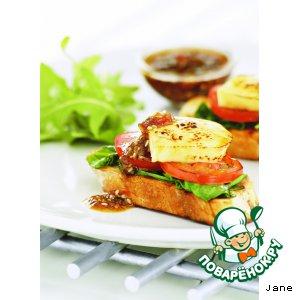 Рецепт: Сэндвич «Терияки»