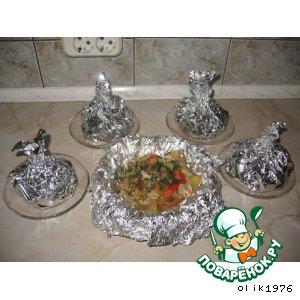 Рецепт: Овощное рагу с мясом