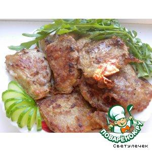 Рецепт: Свиные отбивные под соевым маринадом